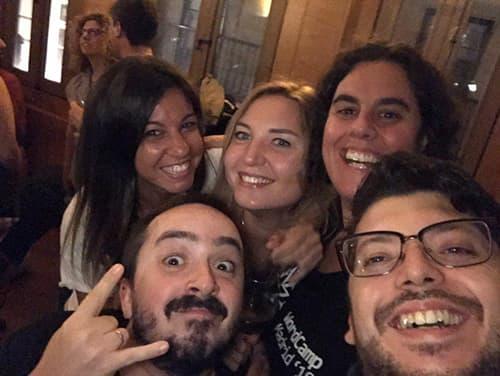 Foto After Party WordCamp Pontevedra