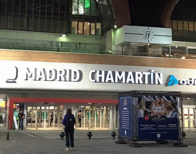 Estación Madrid - Chamartín